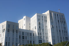 White Residential Building Royalty Free Stock Photos