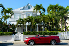 House at Key West Stock Photos