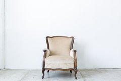 White Retro Chair Stock Photos