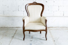 White Retro Chair Royalty Free Stock Image