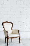White Retro Chair Royalty Free Stock Photos