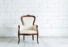 White Retro Chair Stock Images