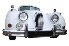 White retro limousine Stock Photo