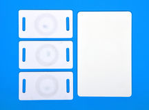 White RFID cards Stock Photography