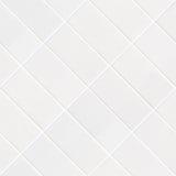 White rhomboid tile mosaic Royalty Free Stock Photo