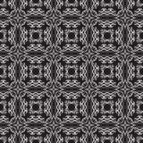 White ribbon pattern Royalty Free Stock Image