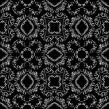 White ribbon pattern Stock Photography