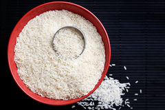 White rice. Royalty Free Stock Photo