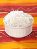 White rice in a blow Royalty Free Stock Photos