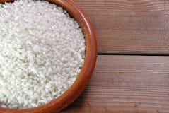 White rice in bowl Royalty Free Stock Photos