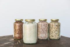 White rice grain Stock Image