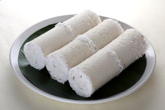 White rice Puttu Royalty Free Stock Photo