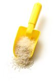White rice in spoon Royalty Free Stock Photography