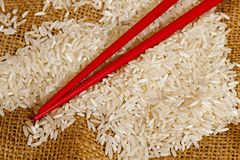 White rice Stock Photo