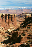 White Rim Canyon Stock Image