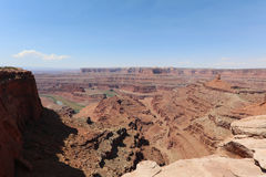 White Rim in Canyonlands National Park Royalty Free Stock Photos