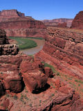 White Rim on the Colorado Royalty Free Stock Image