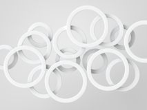 White rings Royalty Free Stock Photography