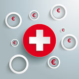 White Rings Euro Cross PiAd Stock Photography