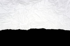 White ripped paper Royalty Free Stock Photography