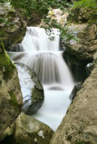 White river. In Stara planina mountain in Bulgaria Stock Photography