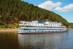 White river cruise boat Royalty Free Stock Photography