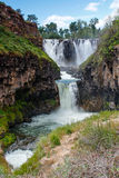 White River Falls in Central Oregon Stock Photos