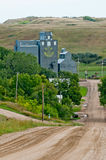 White River grain Silo Stock Images