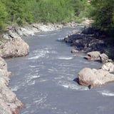 White River, Granite Gorge, Adygea, Russia Stock Image