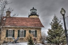 White River  Lighthouse Royalty Free Stock Images
