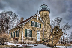 White River  Lighthouse Stock Photos