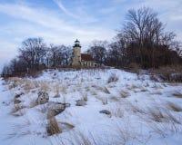 White River Lighthouse Stock Image