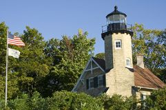 White River Lightstation Photos libres de droits