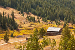 White River National Forest in Colorado. Independence Ghost Town, site seeing location in the White River National Forest, Colorado Stock Image