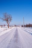 White road Stock Image