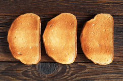 White roasted bread Royalty Free Stock Image