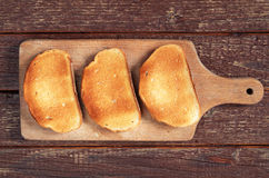 White roasted bread Royalty Free Stock Photos