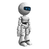White robot Stock Photos