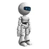 White robot Stock Photos