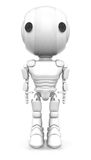 White Robot Royalty Free Stock Photos