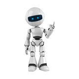 White robot stay Stock Photography