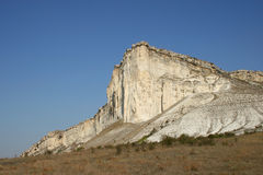 The White Rock. Near Belogorsk, Crimea, Ukraine Royalty Free Stock Image