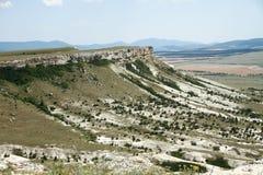 White Rock or Ak-Kaya in the Crimea Stock Image