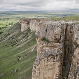 White Rock Ak-Kaya in Crimea Stock Image