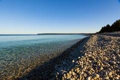 White Rock Beach on Georgian Bay Ontario Stock Photo