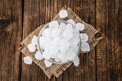White Rock Candy & x28;selective focus& x29; Royalty Free Stock Photography