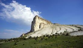 White rock.Crimea Royalty Free Stock Photos