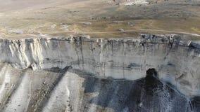White rock Crimea. White rock in the Crimea in October stock video