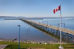 White Rock Pier BC, Canada Stock Image