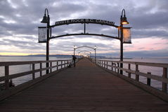 White Rock Pier Royalty Free Stock Photos